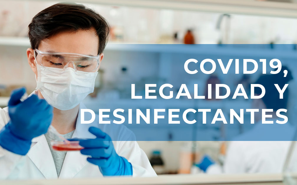 desinfectantescovid19ylegalidad